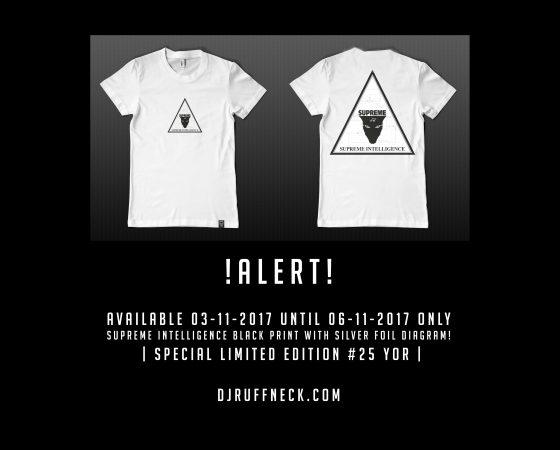 Limited Edition Supreme Intelligence Shirt