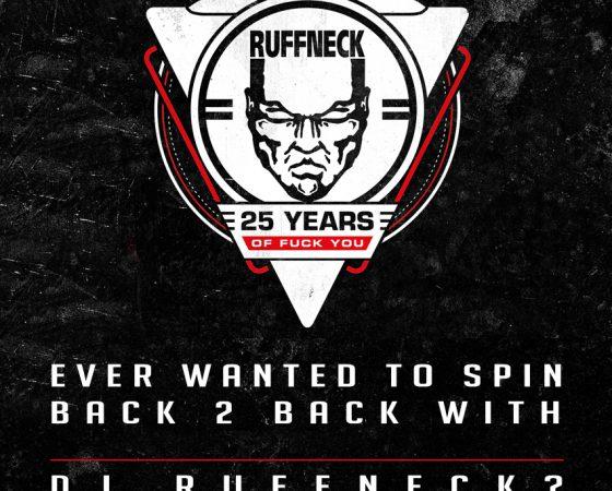 Spin B2B with DJ Ruffneck!