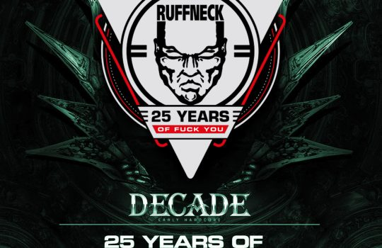 DJ Ruffneck at Decade After words.