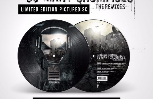 ENZYME 60 PICTURE DISC – OPHIDIAN & RUFFNECK – SO MANY SACRIFICES – THE REMIXES