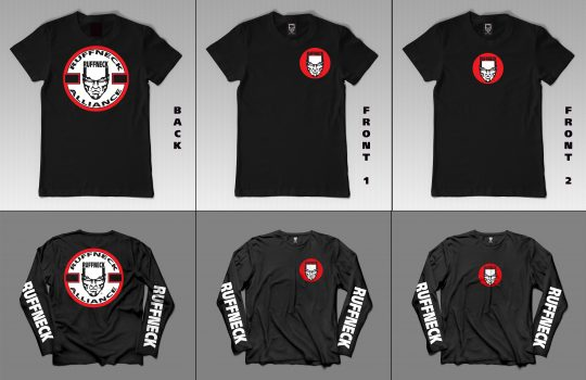 Ruffneck Alliance Classic Shirt – Short & Longsleeves !